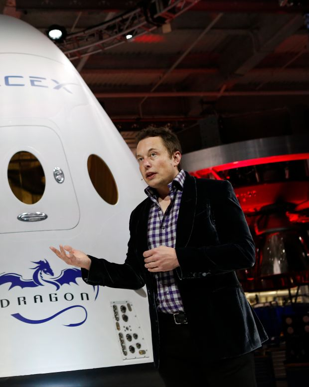 Elon Musk SpaceX Photo