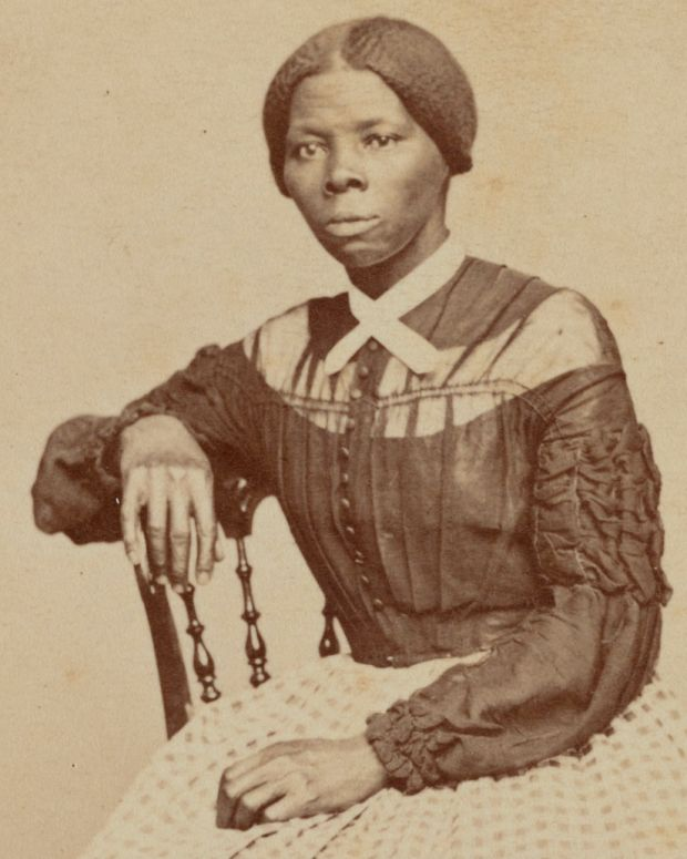 Carte-de-visite of Harriet Tubman, 1868-1869