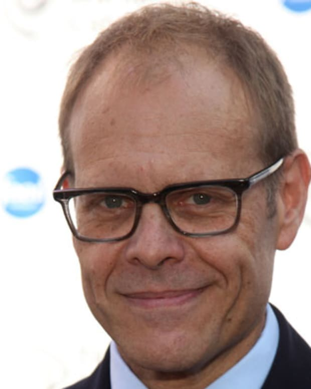 NEW YORK, NY - SEPTEMBER 30:  Alton Brown attends the 'Next Iron Chef' interactive experience kick-off on the  Streets of Manhattan on September 30, 2011 in New York City.  (Photo by Paul Zimmerman/WireImage)