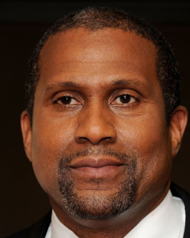 BEVERLY HILLS, CA - APRIL 11:  Talk show host Tavis Smiley attends The Academy Of Motion Picture Arts And Sciences Presents The 50th Anniversary Screening Of 'To Kill A Mockingbird' at AMPAS Samuel Goldwyn Theater on April 11, 2012 in Beverly Hills, California.  (Photo by Valerie Macon/Getty Images)