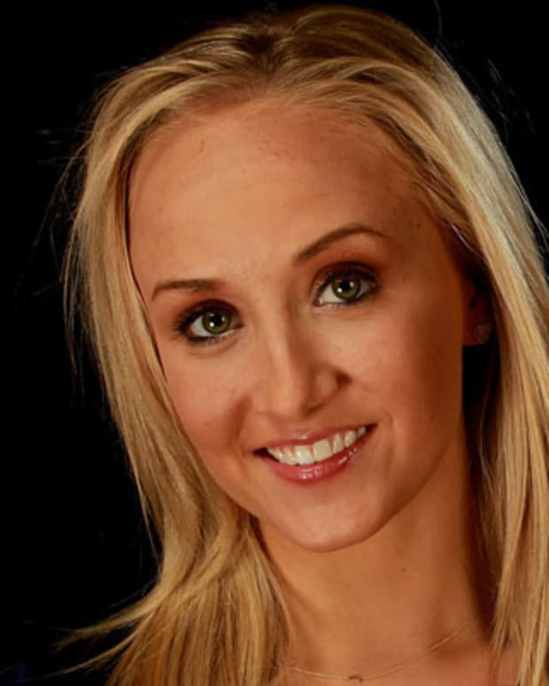 DALLAS, TX - MAY 14:  Gymnast, Nastia Liukin, poses for a portrait during the 2012 Team USA Media Summit on May 14, 2012 in Dallas, Texas.  (Photo by Ronald Martinez/Getty Images)