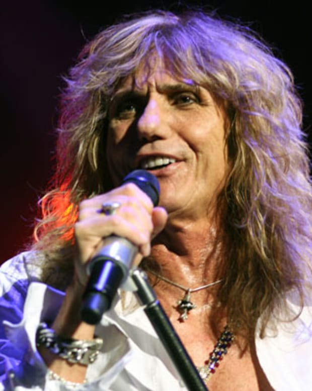 David Coverdale of Whitesnake performs at Bournemouth International Centre on June 18, 2011 in Bournemouth, England. (Photo by Harry Herd/WireImage)