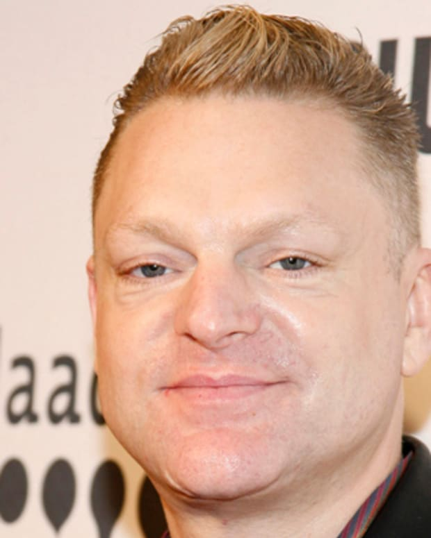 Andy Bell of Erasure during The 17th Annual GLAAD Media Awards at Marriott Marquis Hotel Times Square in New York, New York, United States. (Photo by M. Von Holden/FilmMagic)