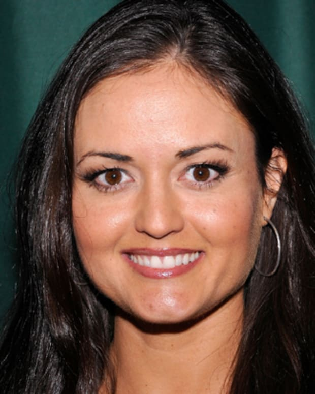 GLENDALE, CA - AUGUST 23:  Actress/mathematician Danica McKellar arrives at a signing for her new book 'Girls Get Curves: Geometry Takes Shape' at Barnes & Noble at The Americana at Brand on August 23, 2012 in Glendale, California.  (Photo by Michael Tullberg/Getty Images)