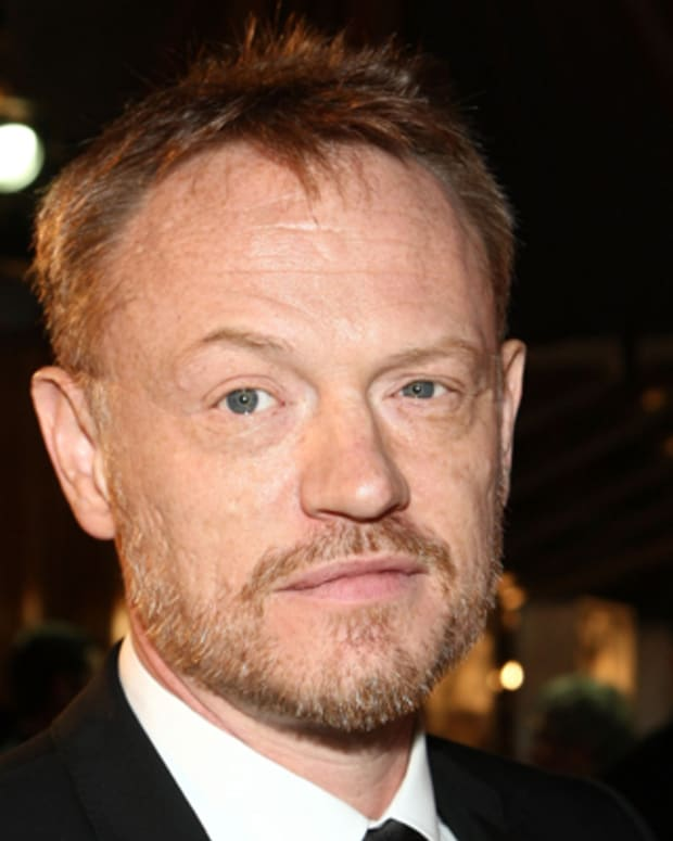 WESTWOOD, CA - DECEMBER 08:  Actor Jared Harris arrives at the premiere of Paramount's 'The Curious Case Of Benjamin Button' held at Mann's Village Theatre on Decemeber 8, 2008 in Westwood, California.  (Photo by Alberto E. Rodriguez/Getty Images) *** Local Caption *** Jared Harris