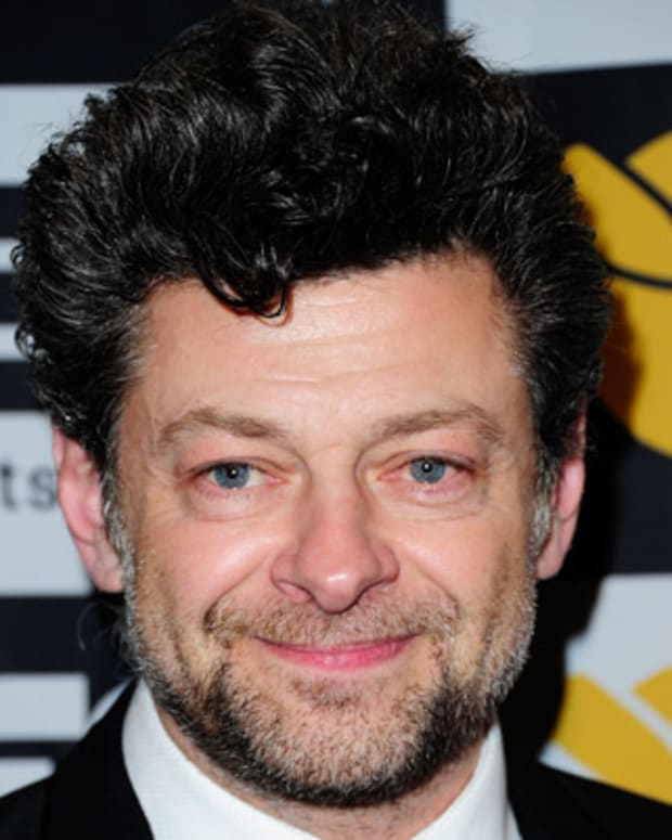 BEVERLY HILLS, CA - FEBRUARY 05:  Actor Andy Serkis arrives at the 2013 Visual Effects Society Awards at The Beverly Hilton Hotel on February 5, 2013 in Beverly Hills, California.  (Photo by Allen Berezovsky/WireImage)