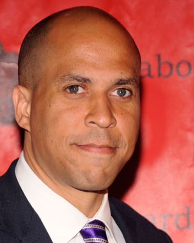 NEW YORK - MAY 17:  Newark, New Jersey Mayor Cory Booker attends the 69th Annual Peabody Awards at The Waldorf=Astoria on May 17, 2010 in New York City.  (Photo by Gary Gershoff/WireImage) *** Local Caption *** Cory Booker