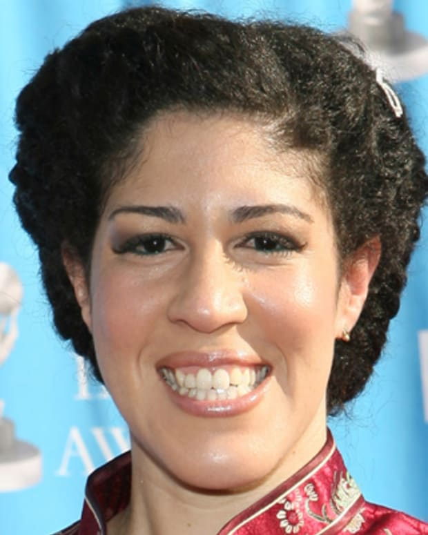 Rain Pryor at the Shrine Auditorium in Los Angeles, California (Photo by Maury Phillips/WireImage)