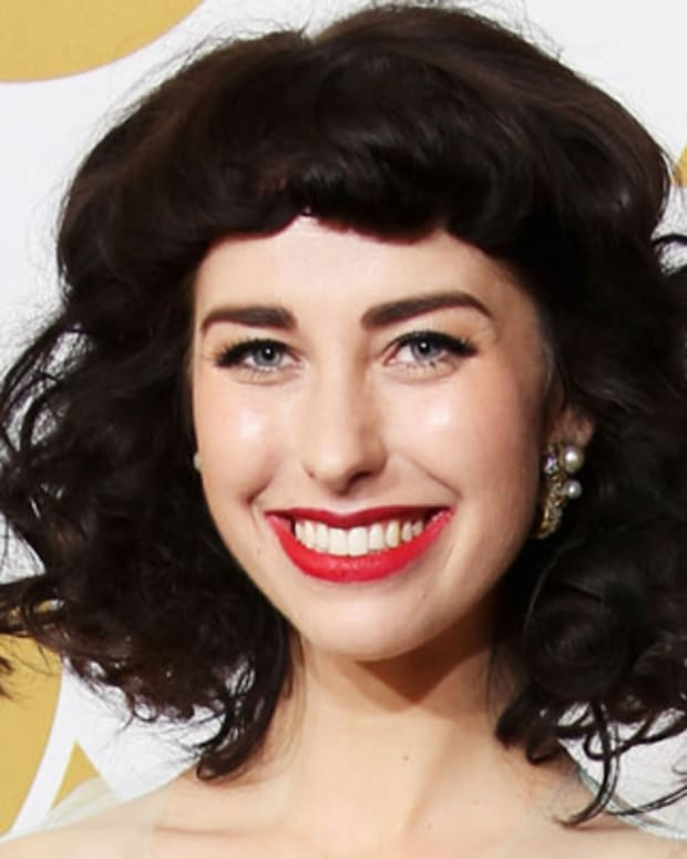 LOS ANGELES, CA - FEBRUARY 10:  Singer Kimbra, winner Best Pop Duo/Group Performance for 'Somebody That I Used to Know,' poses in the press room at the 55th Annual GRAMMY Awards at Staples Center on February 10, 2013 in Los Angeles, California.  (Photo by Frederick M. Brown/Getty Images)
