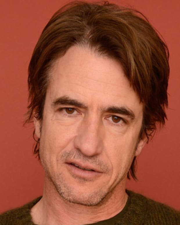 PARK CITY, UT - JANUARY 21:  Actor Dermot Mulroney poses for a portrait during the 2013 Sundance Film Festival at the Getty Images Portrait Studio at Village at the Lift on January 21, 2013 in Park City, Utah.  (Photo by Larry Busacca/Getty Images)