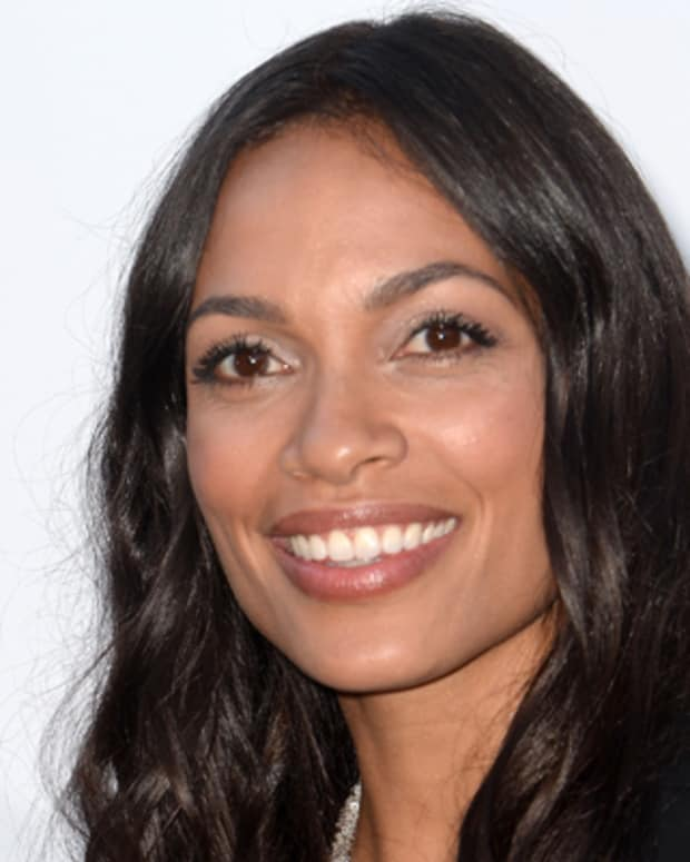 CAP D'ANTIBES, FRANCE - MAY 23:  Actress Rosario Dawson attends amfAR's 20th Annual Cinema Against AIDS during The 66th Annual Cannes Film Festival at Hotel du Cap-Eden-Roc on May 23, 2013 in Cap d'Antibes, France.  (Photo by Samir Hussein/French Select via Getty Images)