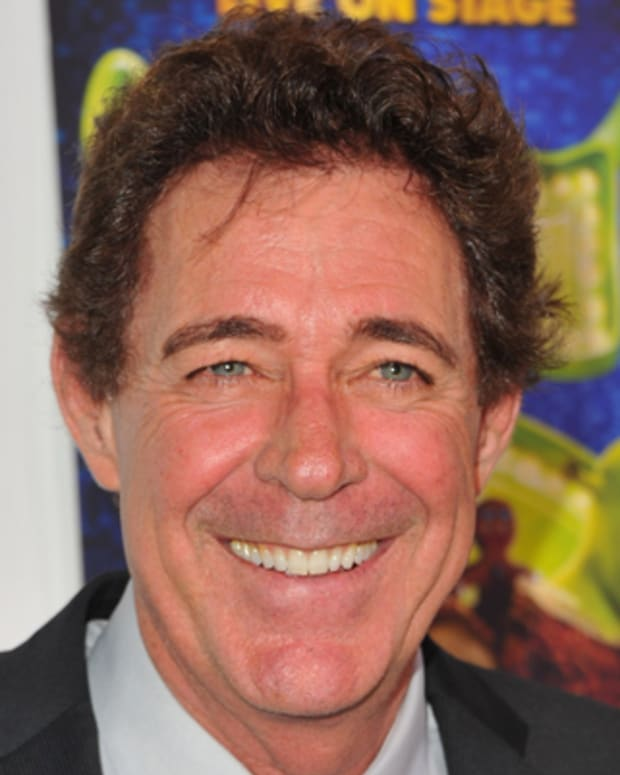 HOLLYWOOD, CA - JULY 13:  Actress Barry Williams arrives to the Los Angeles Opening Night of 'Shrek The Musical' at the Pantages Theatre on July 13, 2011 in Hollywood, California.  (Photo by Alberto E. Rodriguez/Getty Images)