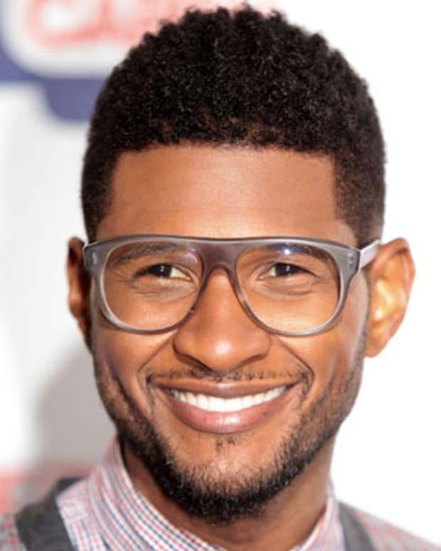 LONDON, UNITED KINGDOM - JUNE 09: Usher attends the Capital FM Summertime Ball at Wembley Stadium on June 9, 2012 in London, United Kingdom. (Photo by Christie Goodwin/Redferns via Getty Images)