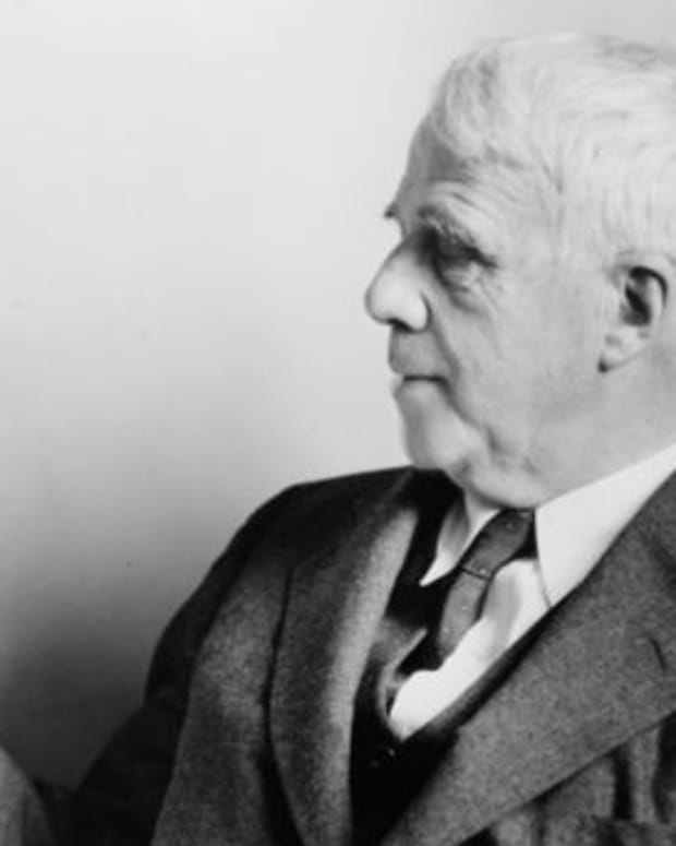 robert frost bibliography A four-time pulitzer prize winner in poetry, american robert frost depicted realistic new england life through language and situations familiar to the common man born on march 26, 1874, robert .