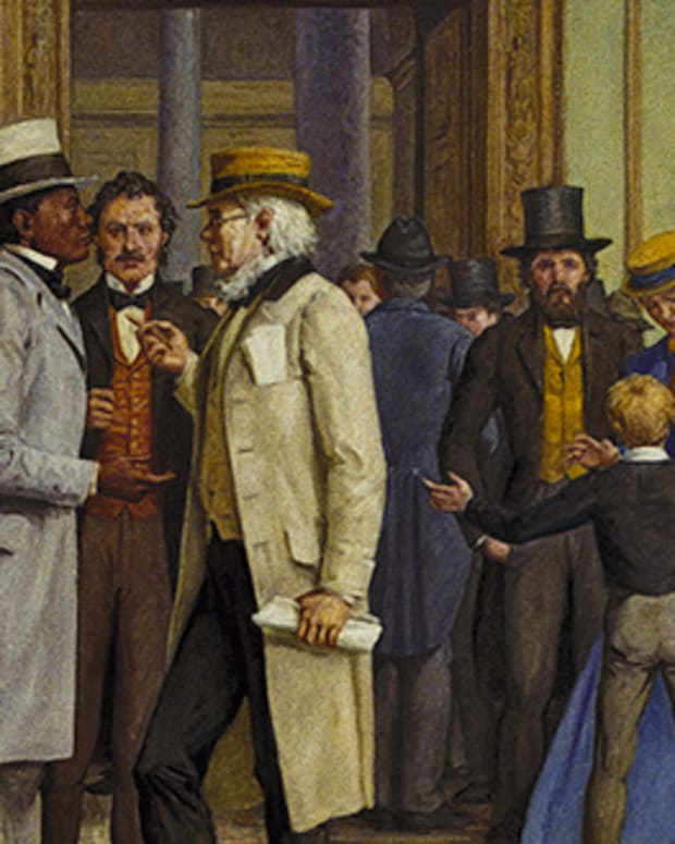 Civil Rights Bill Passes in 1866 By Architect of the US Capitol [Public domain], via Wikimedia Commons