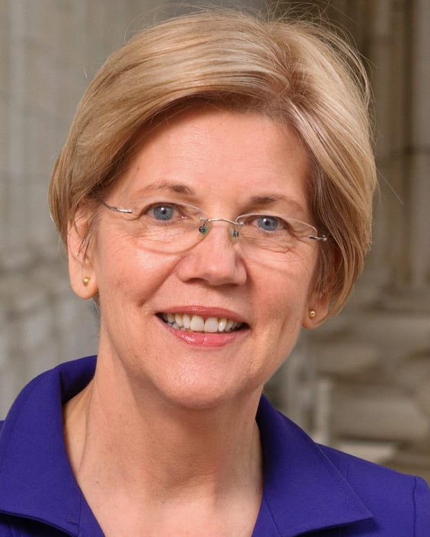 Elizabeth Warren Official Portrait