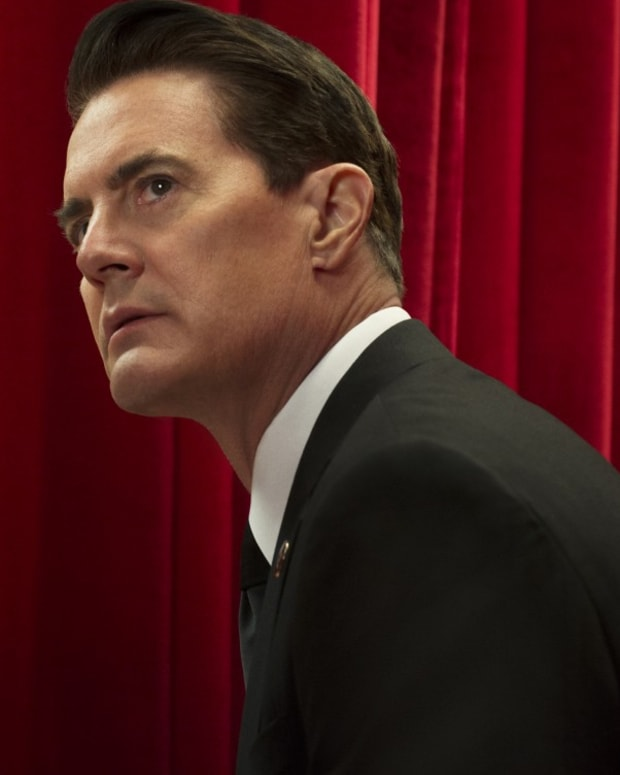 Kyle MacLachlan in Twin Peaks on Showtime