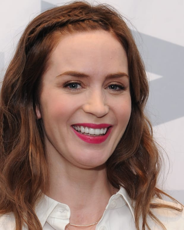 Emily Blunt photo via Getty Images