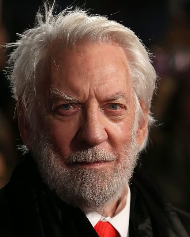 Donald Sutherland photo via Getty Images