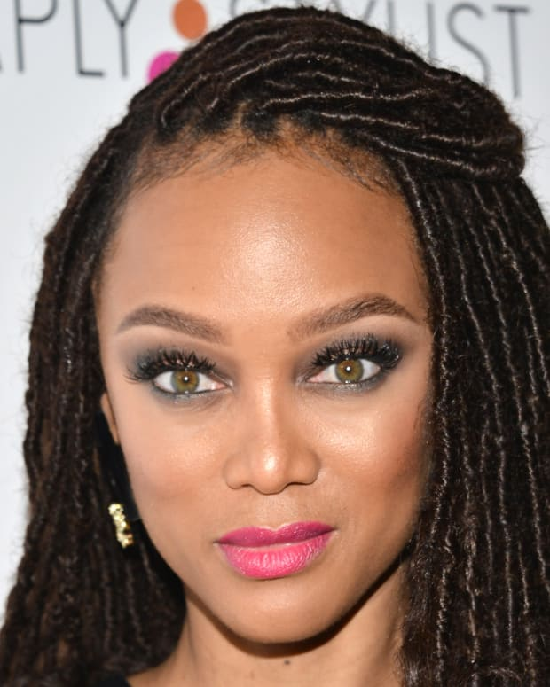 Tyra Banks Famous For: African-American Firsts: Film And TV