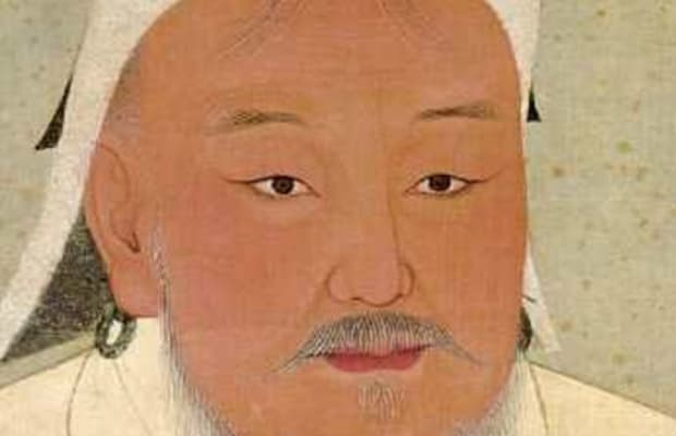 genghis khan military leader warrior biography