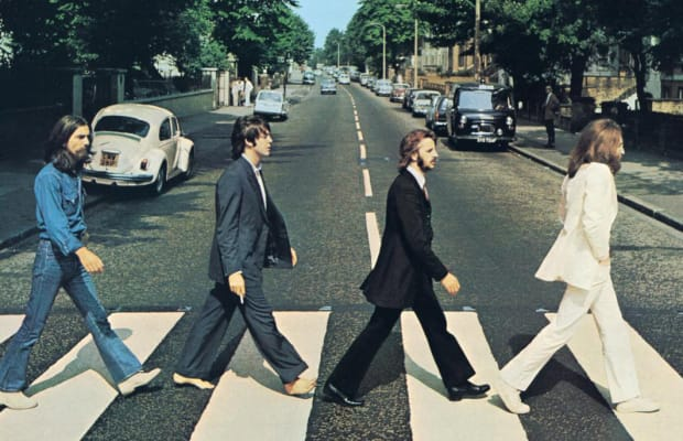 48a7f6f028f89 The Kooky Symbolism on the Beatles' 'Abbey Road' Album Cover - Biography