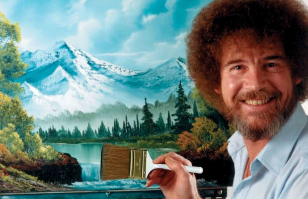 21313c797ed1e Bob Ross  13 Happy Little Facts About the Iconic PBS Painter - Biography