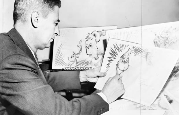 How The Grinch Stole Christmas Book Illustrations.Who Was Dr Seuss Inspiration For The Grinch Himself