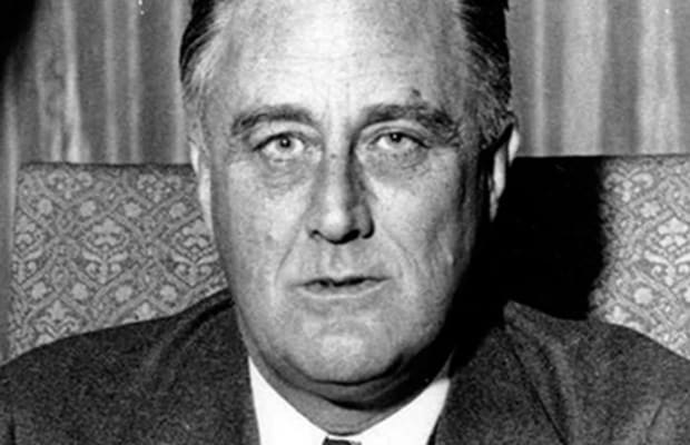 Franklin D Roosevelt Facts Quotes New Deal Biography