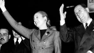 a biography of eva duarte de peron an argentine politician View images and find out more about in profile: eva peron at eva duarte de peron key p/peron the embalmed body of argentinian politician eva peron (1919.