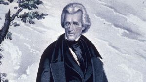Andrew Jackson - Fighting Off an Assassin