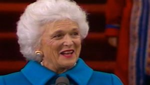 Barbara Bush - First Lady