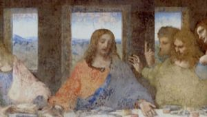 Leonardo da Vinci - Painting The Last Supper
