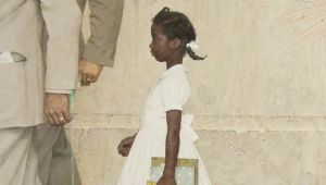 Ruby Bridges - Norman Rockwell Painting at the White House