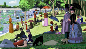 "Georges Seurat - ""A Sunday on La Grande Jatte"""