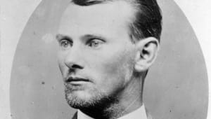 Jesse James - First Bank Robbery