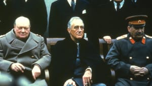 Franklin D. Roosevelt – The Yalta Conference
