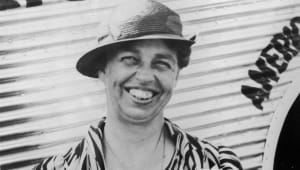 Eleanor Roosevelt - A Warm Roosevelt Welcome