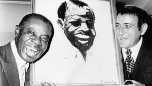 Louis Armstrong - Tony Bennett Paints Satchmo