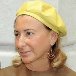 Photo of Miuccia Prada and her 2018 clean make up style, products & tips