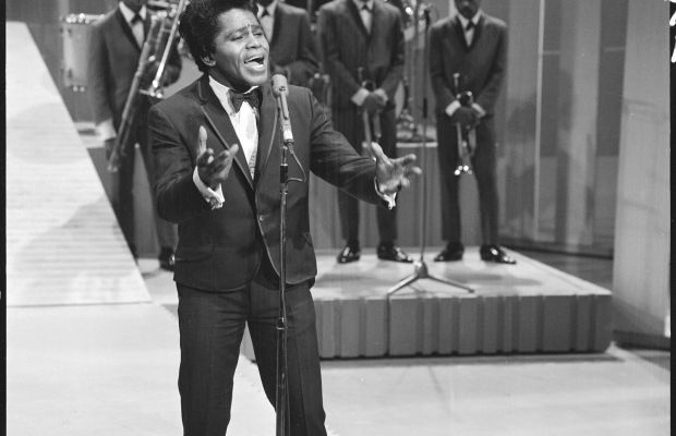 The Ed Sullivan Show Guests: Godfather of Soul James Brown belts out the funk on Sullivan's stage in 1966.
