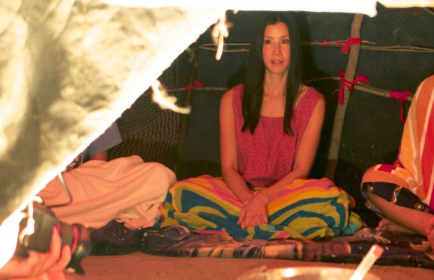 Lisa Ling on location for 'Our America.' (Photo: Courtesy of OWN)