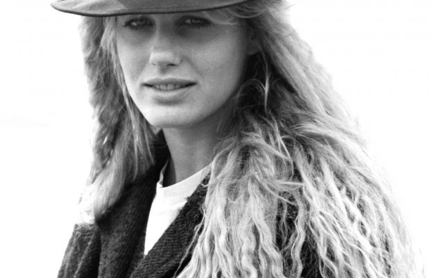 Daryl Hannah in a portrait session on the set of 'Splash,' circa 1984.
