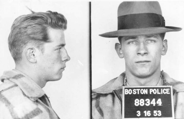 Bulger's mug shot in 1953.