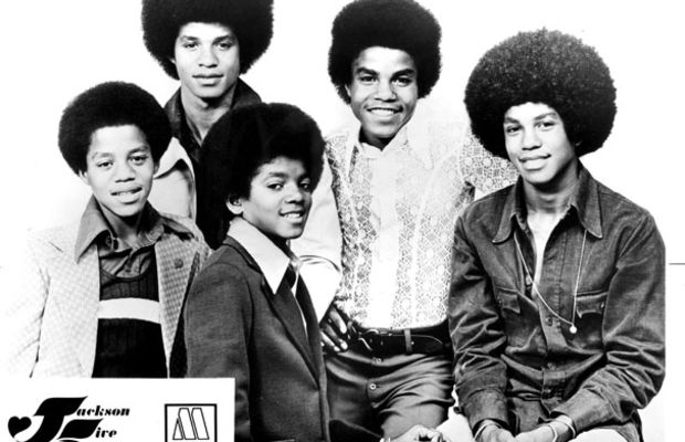The Jackson 5, including Marlon Jackson, from left, Jermaine Jackson, Michael Jackson, Tito Jackson and Jackie Jackson, pose for a portrait, circa 1972. (Michael Ochs Archives/Getty Images)