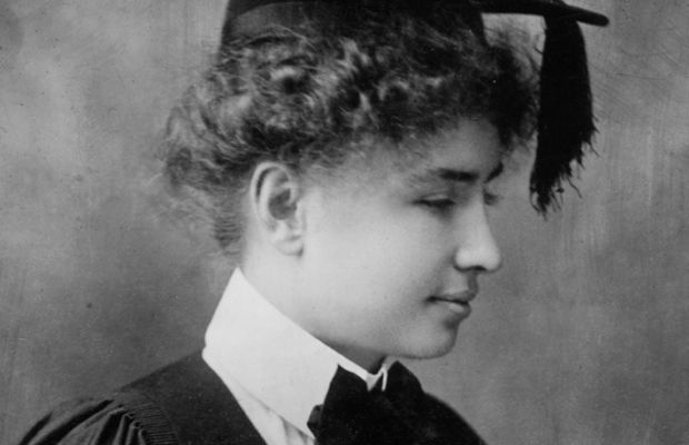 Helen Keller: In 1904, Helen Keller graduated from Radcliffe College. While in college, she began writing her memoir, The Story of My Life.