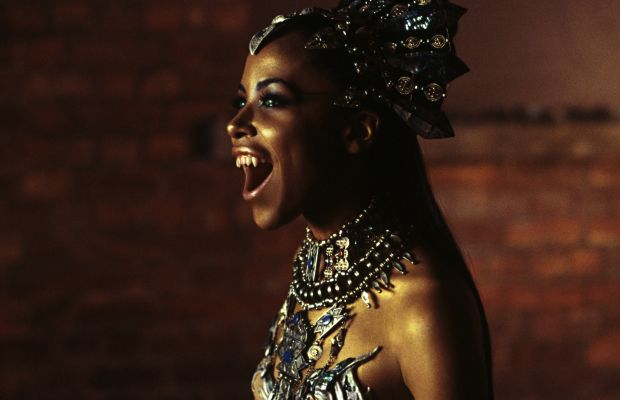 Aaliyah: Aaliyah steps into the spotlight once again as the titular character in the 2002 film Queen of the Damned.