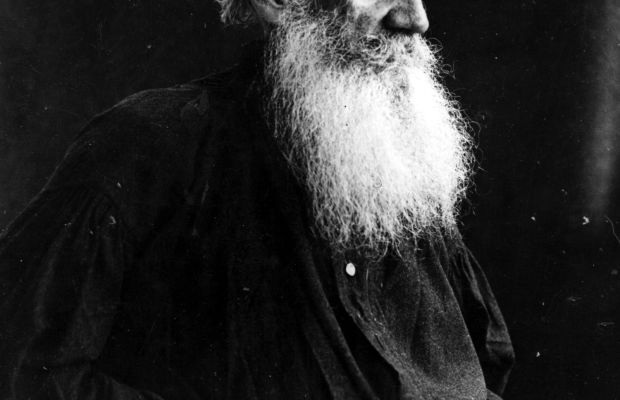 Fantastic Facial Hair: Count Leo Nikolayevich Tolstoy, (1828 - 1910), Russian writer.   (Photo by Hulton Archive/Getty Images)