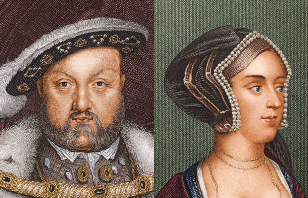 Loved to Death: Henry VIII was so taken by Anne Boleyn, he broke with the Catholic Church because the pope wouldn't annul his first marriage. The Church of England was formed, and Anne gave birth to the future Queen Elizabeth I. When no male child was produced, Anne was committed to the Tower of London and beheaded. (Photo: Getty Images)