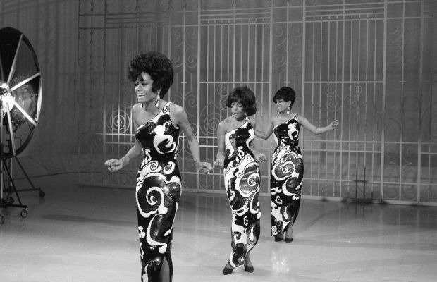 The Ed Sullivan Show Guests: They kept us hanging on. Diana Ross, Cindy Birdsong, and Mary Wilson of The Supremes groove out on The Ed Sullivan Show in 1968.